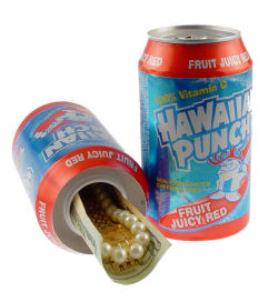 Hawaiian Punch Safe Can