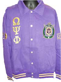 OPP Purple Twill Cotton Jacket
